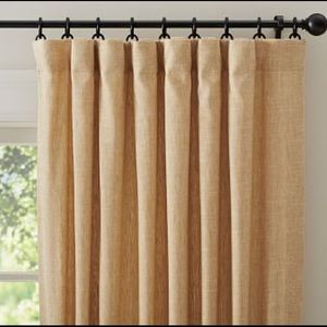 Pottery Barn Emery Linen/Cotton Rod Pocket Curtain